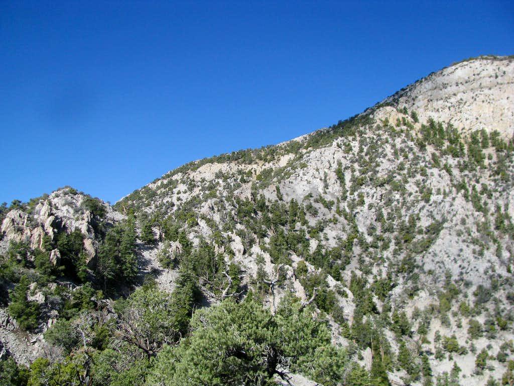 Last section of climb