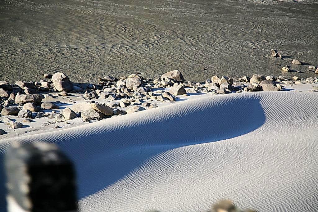 Sand Dunes Along Indus River