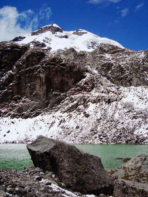Little lake at Illiniza's