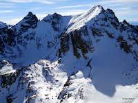 Navajo Peak, Dickers Peck & Apache Peak