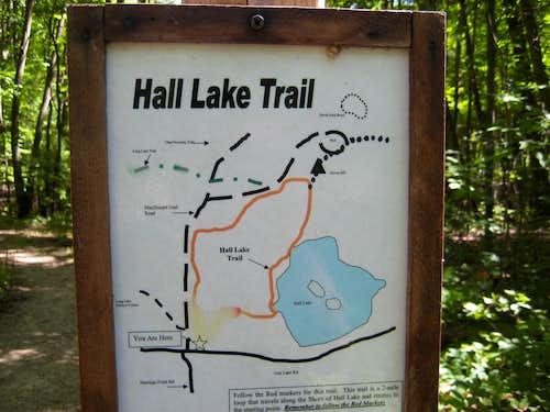 Hall Lake Trail | Yankee Springs Recreation Area - 2010