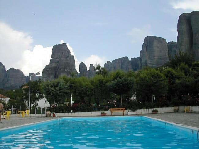 Meteora - Camping