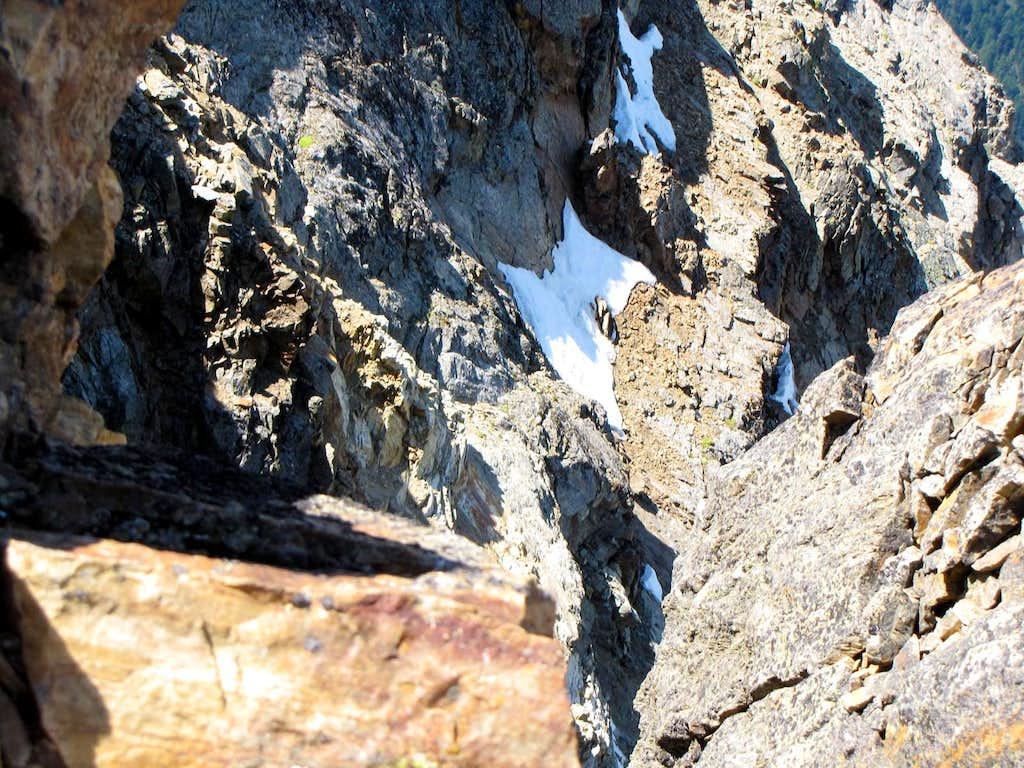 Becca di Nona (3142m) EXIT OUT Garzotto & Company 1966 or Route G of North Wall