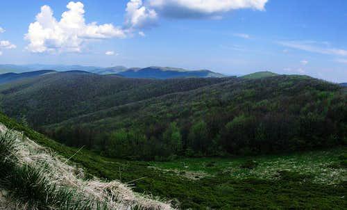 At slopes of Wielka Rawka