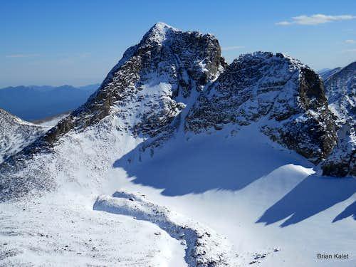 Navajo Peak & Niwot Ridge