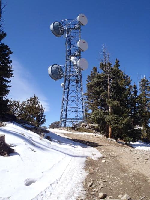 Summit relay tower