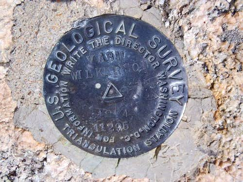 USGS Summit Marker