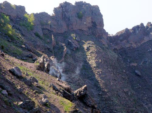 Vesuvius Still Smolders