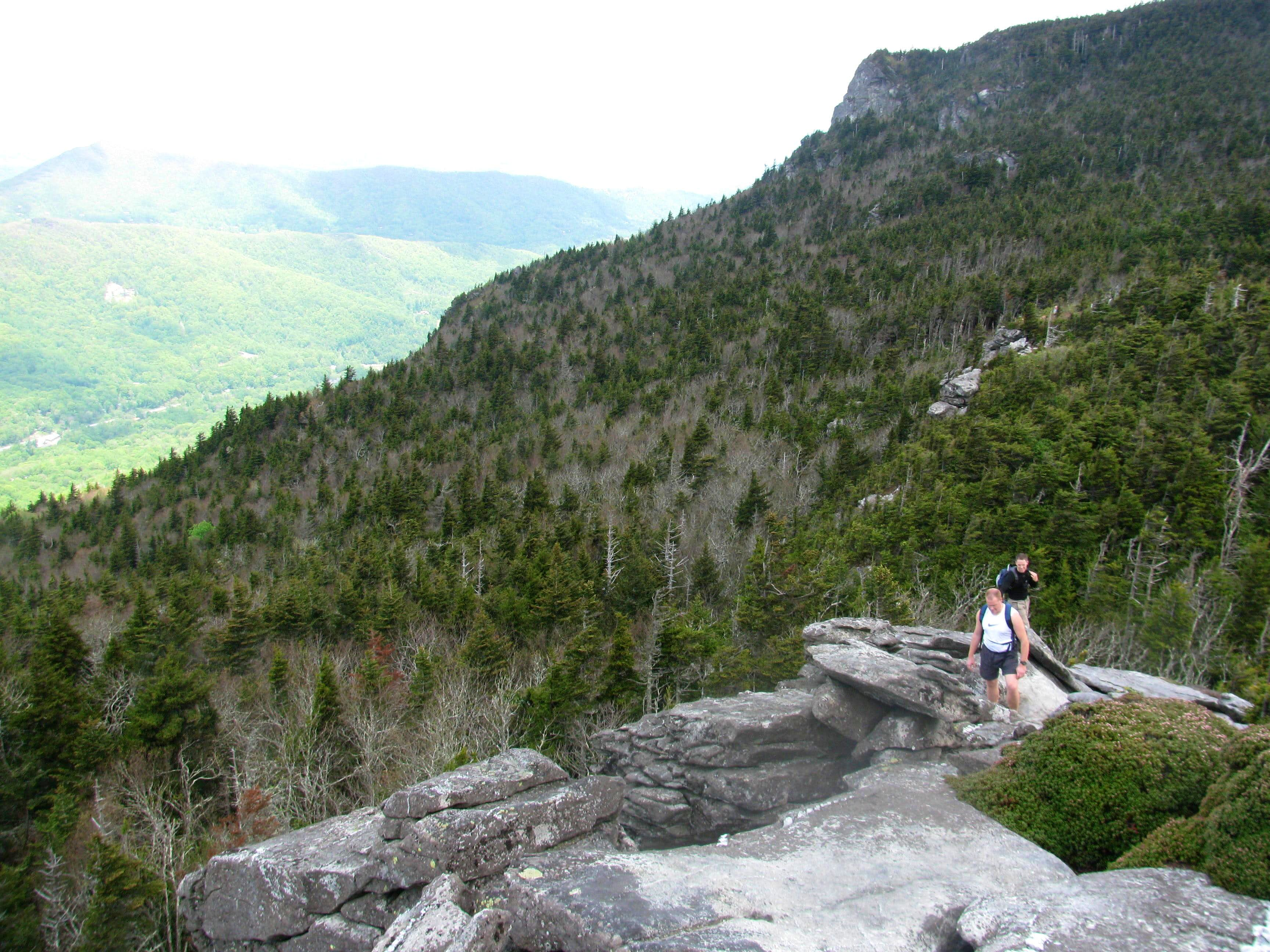 The Grandfather Mountain Traverse