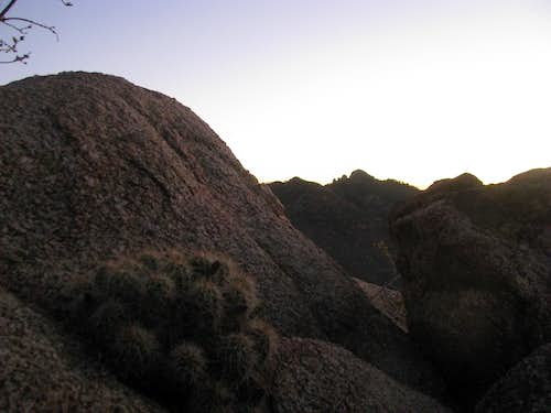 Morning in the Hualapai\'s