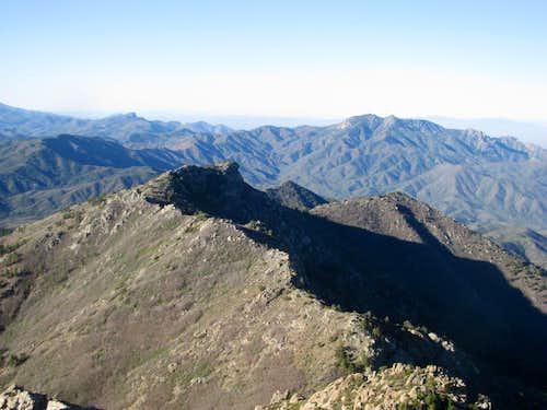 the cool ridge S of Hualapai