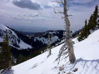 Mineral Mountain - Horse Mountain saddle