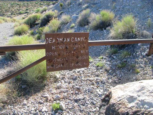Deadman\'s Canyon