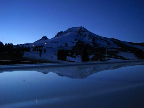 Evening Reflection of Mount Hood