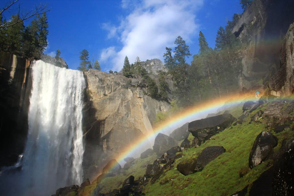 Under the Rainbow at Vernal Falls