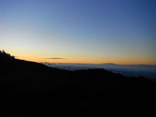 Big Island Volcanoes at dawn