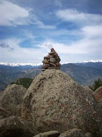 Palisades Summit Cairn