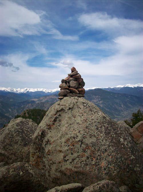 Palisades Summit Cairn