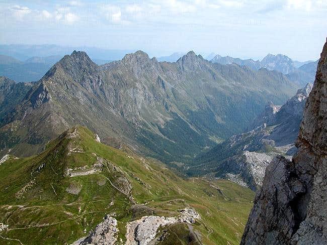 Raudenspitze (2507m), Edigon...