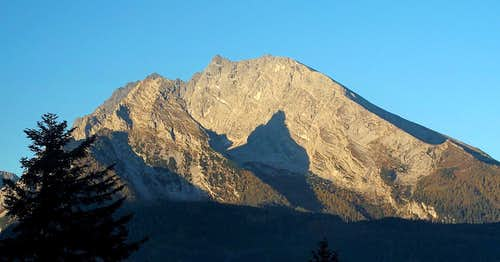 The Watzmann (2713m)...