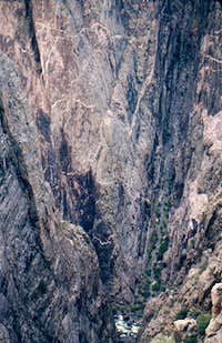 Sheer Canyon Walls