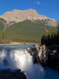 Athabasca Falls at Twilight