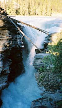 Narrows of Athabasca Falls