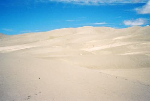 The Tall Sand Dune