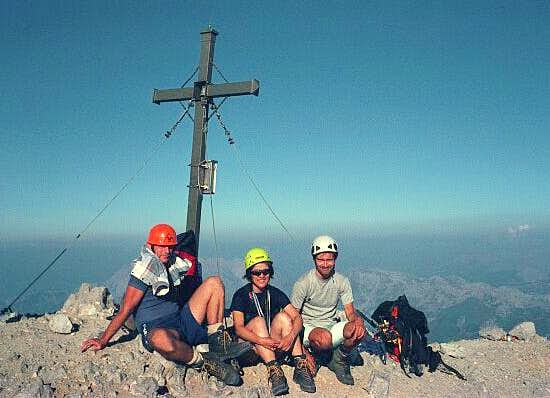 On the top of Watzmann