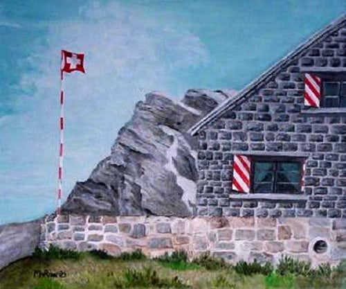 Rambert Hut and Grand Muveran...