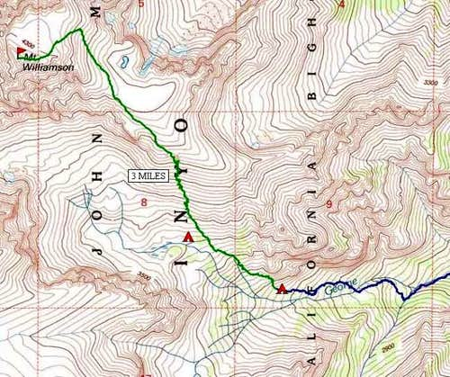 Topo Map of Southeast Ridge...