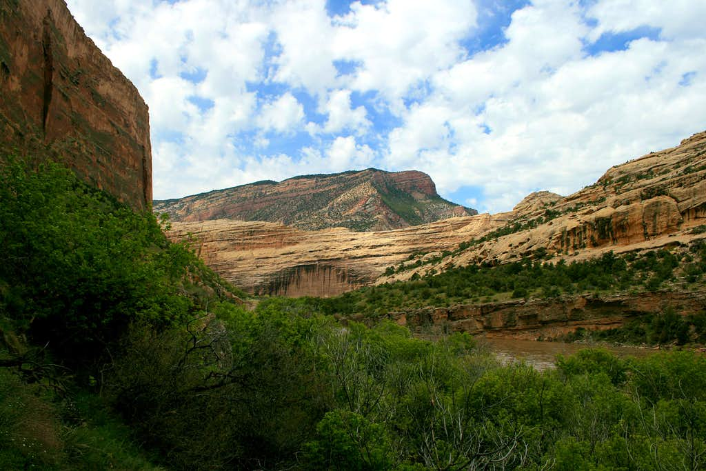 View of Yampa Canyon