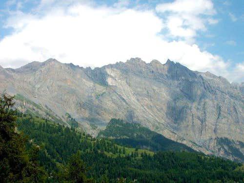 Haut de Cry, 2969 m (august...