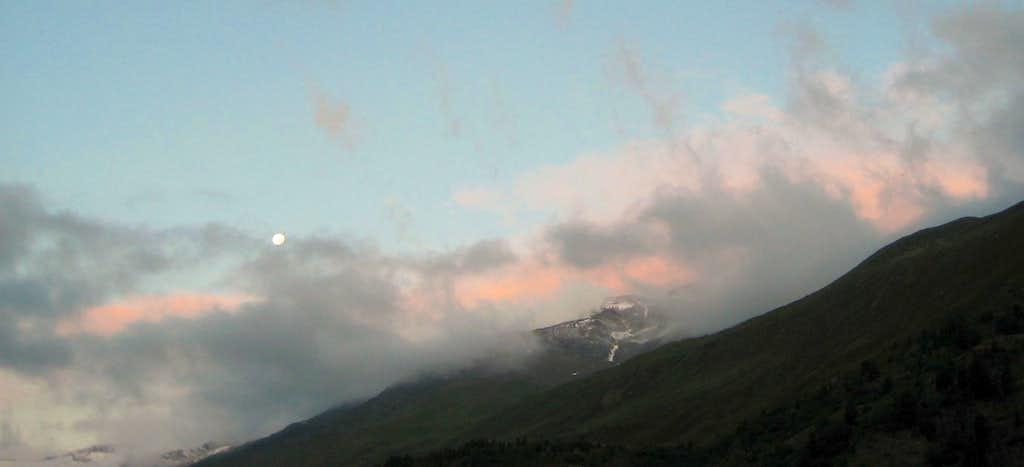 Ötztal Alps at sunrise