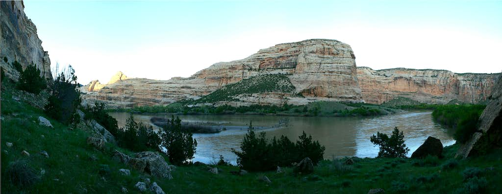 Steamboat Rock in the Evening