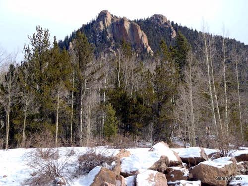 Lower Slopes of Mount Big Chief