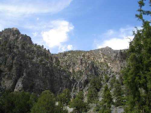 Walls of Deadman Canyon