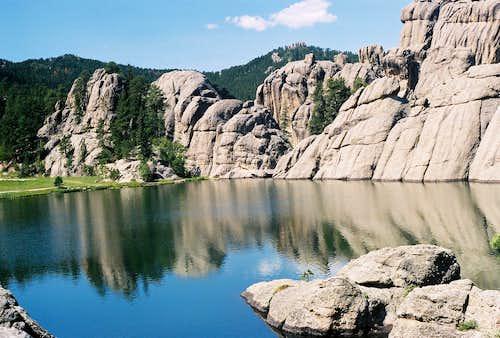 Rocky Shores of Sylvan Lake