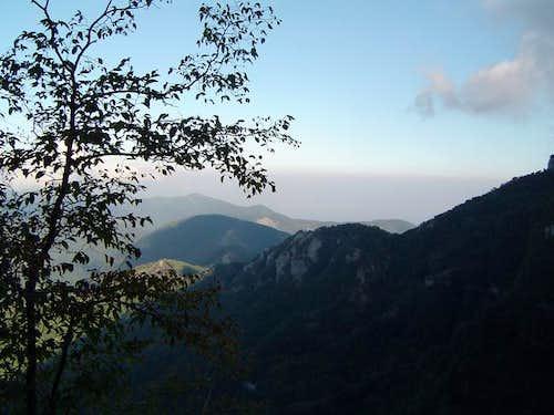 Monte Faito in October