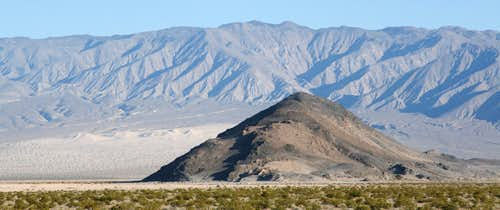 Lake Hill and the Panamint Dunes