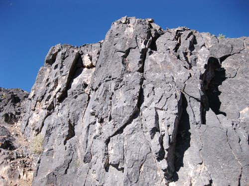 Thimble Peak-- Northeast Ridge Route