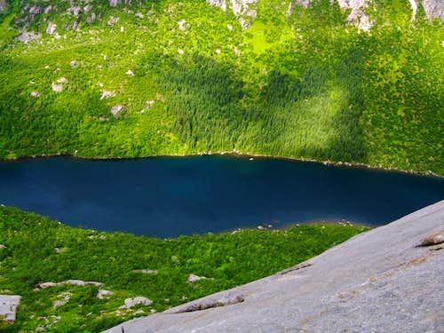 Beautiful Djupfjordvatnet