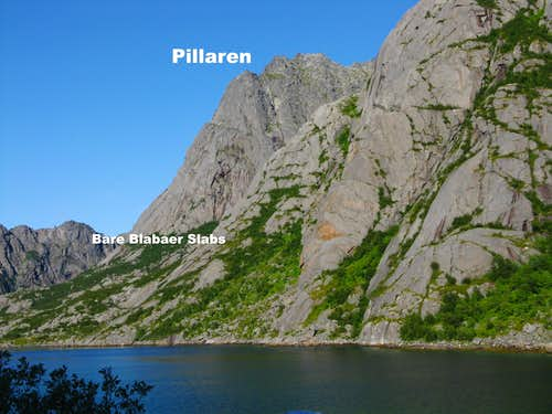 Pillaren with Djupfjord