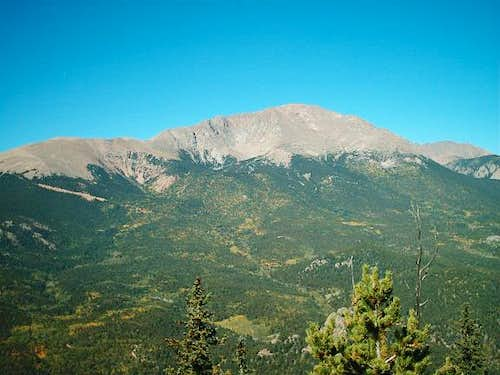 Pikes Peak from summit of...