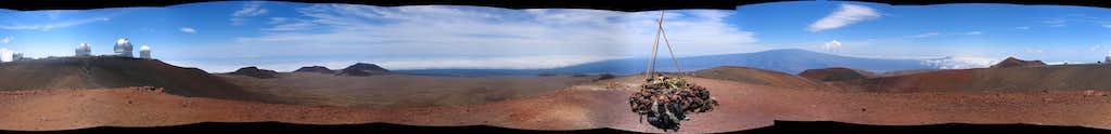 Mauna Kea summit panorama