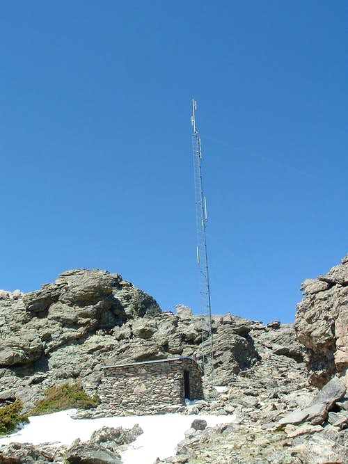 Twin Sisters Radio Antenna