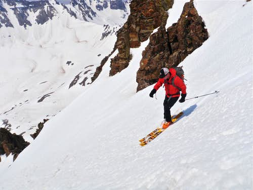 Yankee Boy Basin Skiing