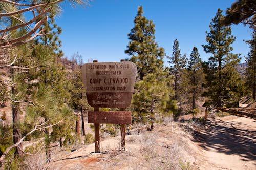 Camp Glenwood along the PCT