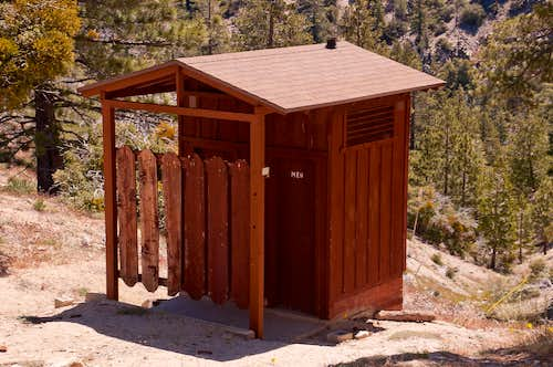 Camp Glenwood Outhouse