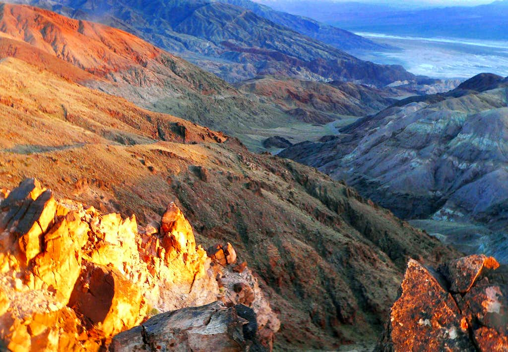 South Death Valley from Coffin Peak